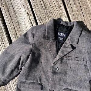 Children's Place Boy's GrayBlazer Sports Coat 3T